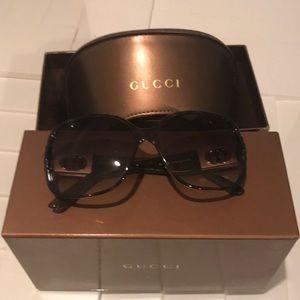 Gucci Brown Turtoise Gg 3170/S Sunglasses